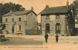 #230619C - 71 MACON La Gare Du Chemin De Fer Départemental - Ligne De MACON à FLEURVILLE - Macon