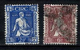 Eire 1945 Yv. 102/103 (o) (2 Scans) - 1937-1949 Éire