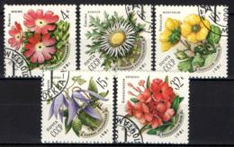 URSS - 1981 - Flowers Of The Carpathian Mountains - USATI - Oblitérés