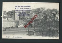 Liège. Rue Pierreuse, Tunnel. 1904.   2 Scans. - Seraing