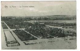 La Panne - Le Cimetière Militaire - Circulée En 1919 - Edit. De Graeve  -  2 Scans - De Panne