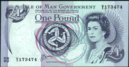 ISLE OF MAN - 1 Pound Nd.(1990-2009) AU-UNC P.40 B - [ 4] Isle Of Man / Channel Island