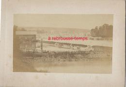 4/ Photo Ancienne Vers 1880 Saint Valéry En Caux (76) Format Photo 10,4 X6,3 Sur Carton 9,4 X13cm - Places