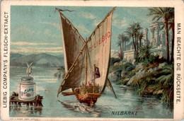 Chromo Liebig Série Complète Allemande N°209 Bateaux 1° Boats Boat Année 1888 En B.Etat - Liebig