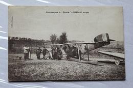 Châtain 86 Atterrissage De La Cocotte En 1921 441CP01 - Sonstige Gemeinden