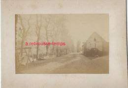 6/ Photo Ancienne Vers 1880 Saint Valéry En Caux (76) - Format Photo 10,4 X6,3 Sur Carton 9,4 X13cm - Places