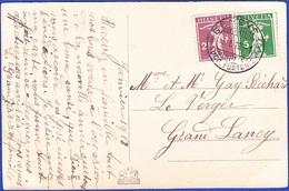 Postcard - Geneve To Gran Lancy / Postmark - GENEVE, 1918 - Briefe U. Dokumente