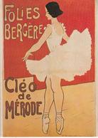 FOLIES BERGÈRE - Cléo De Mérode - Danse