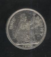 1 Penny Angleterre / UK 1962 Nickelé / Nickel-plated - Exonumia - Grande-Bretagne