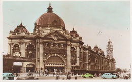 AK Melbourne Flinders Street Railway Train Station Gare Bahnhof St Kilda Rd Victoria VIC Australia Australien Australie - Melbourne