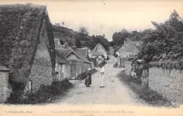 28 - Environs De VILLEMEUX : La Cavée De MAUZAIRE ( Animation ) CPA - Eure Et Loir - Villemeux-sur-Eure