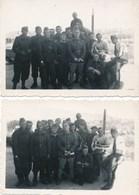 """Lot De 2 Petites """" Photo """" Militaire à Identifier Au Dos Bédarieux Le 29/07/1940  ( Recto Verso ) - Guerre, Militaire"""