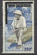 Empire Centrafricain  Poste Aérienne N°163  Albert Schweitzer  AB/B      Soldé à Moins De 10 % ! ! ! - Albert Schweitzer