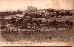 France Bourges Panorama Pris De Beauregard - Bourges