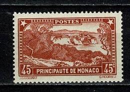 Monaco 1933/37 Yv. 123** MNH  Cat. Yv. € 9,50 - Monaco