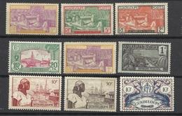 Guadeloupe N°55;99;100;102;122 Et 147 Neufs* B/TB (les 187et188 Offerts)        Soldé à Moins De 20 % ! ! ! - Guadeloupe (1884-1947)