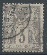 Lot N°49860  N°87, Oblit Cachet à Date De VALENCE S-RHONE, DROME - 1876-1898 Sage (Type II)