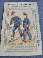 Fabrique De Chicorée Pierre Montagne Tourcoing. Rébus N° 22. - Trade Cards
