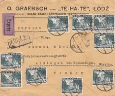 Lettre Expres En Reco - 1919-1939 République