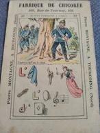 Fabrique De Chicorée Pierre Montagne Tourcoing. Rébus N° 27. - Trade Cards