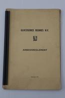 Aalst 1973 Arbeidsreglement Glucoserie Reunies - Historical Documents