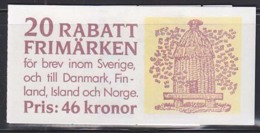 SWEDEN (1990) Beehive. Bees. Booklet Of 20 Stamps Related To Beekeeping. - Libretti