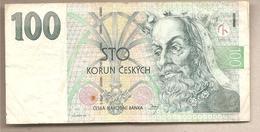 Rep. Ceca - Banconota Circolata Da 100 Corone P-18 - 1997 - Repubblica Ceca