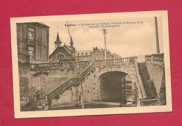 C.P. Enghien =  Le  Pont  De La Dodane - L' Hôpital St Nicolas - La Chapelle Ste-Aldegonde - Enghien - Edingen