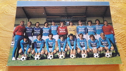 Equipe Troyes Aube Football Diebold Fievet Bourgeois Hodoul Ansaldo Formici Manet Pleimelding - Soccer