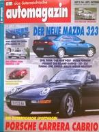 CA173 Autozeitschrift Am Automagazin, Nr. 5/1994, Porsche Carrera Cabrio, Neuwertig - Auto & Verkehr