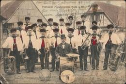 Ansichtskarte Kehl (Rhein) Hanauer Musikverein 1908 - Kehl