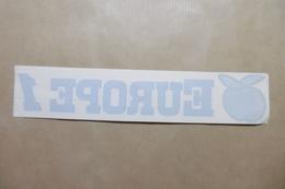 """Autocollant Stickers : Médias RADIO """"EUROPE 1"""" - Stickers"""
