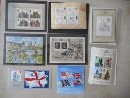 0012 Great Britain Grossbritannien Block 1,2,3,4,5,6,7,8,9,11,12,13,14, 1871 KB ** - Blocks & Kleinbögen