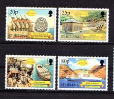 SAINT  HELENA    2001    500th  Anniv  Of  Discovery  Of  Saint  Helena   5th  Series   Set  Of  4     MNH - Saint Helena Island