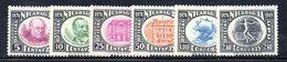 APR1535 - NICARAGUA 1950 , Posta Aerea Serie Yvert N. 280/286  ***  MNH  (2380A) .UPU - Nicaragua