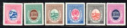 APR1536 - NICARAGUA 1958 , Posta Aerea Serie Yvert N. 395/400  ***  MNH  (2380A) .UNESCO - Nicaragua