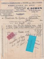 Facture 1947 / BOIRON / Fabrique De Fleurs-poupées & Fétiches / Pour Tirs, Loteries, Fête Foraine / 69 Lyon - France