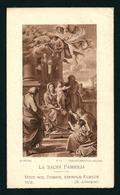 ED.  SLE - LA SACRA FAMIGLIA - E - Mm. 65 X 110 - Nr. F11 - Ricordo Della Priora Emilia Aldè - S. Giovanni Alla Castagna - Religione & Esoterismo