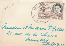 Congo Belge - Lot De Lettres Par Avion Oblitérations Bunia - Paulis - Congo Belge
