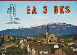 QSL Card Amateur Radio Funkkarte Espana Spain Spanje 1980 San Celoni Barcelona EA 3 BKS - Radio Amatoriale