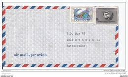 125 - 24 - Enveloppe Envoyée De San Salvador En Suisse - Kennedy (John F.)