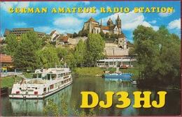 QSL Card Amateur Radio Funkkarte German Deutschland Breisach Am Rhein St.-Stephans Munster DJ3HJ Rudi Knobloch 1997 - Radio Amatoriale