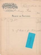 Facture1903 / CONSTANTIN Frères / Fabricant Joaillier / Bijouterie / 69 Lyon - France