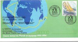 FRANCE- LETTRE ENTIER POSTAL 2.50 POSTIERS AUTOUR DU MONDE - CACHET WHITBREAD 14.VI.94 SOUTHAMPTON GRANDE BRETAGNE  / 1 - Standaardomslagen En TSC (Voor 1995)