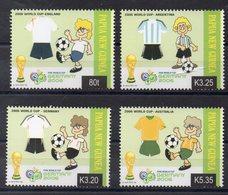 PAPOUASIE NOUVELLE GUINEE    Timbres Neufs ** De 2006  ( Ref 6555 ) Sport - Football - Papouasie-Nouvelle-Guinée