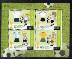 PAPOUASIE NOUVELLE GUINEE    Timbres Neufs ** De 2006  ( Ref 6556 ) Sport - Football - Papouasie-Nouvelle-Guinée