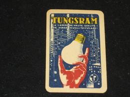 1 Oude Speelkaart TUNGSRAM Lampen - Other