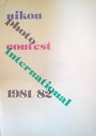 CA179 Nikon Photo Contest International 1981/82, Katalog, Neuwertig, 172 Seiten, Nippon Kogaku K.K., Tokyo, Japan - Fotografie