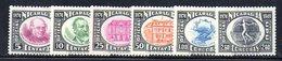 APR1546 - NICARAGUA 1949 , Servizio Per La Posta Aerea Serie Yvert N. 39/44  ***  MNH (2380A)  UPU - Nicaragua
