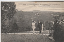 I K H Die Grossherzogin Marie Adelheld Auf Dem Wege Zue Kreuzkapelle In Grevenmacher 25 Juli 1913 - Cartes Postales